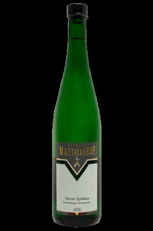 Kerner_Spaetlese_Brauneberger-Klostergarten Flasche