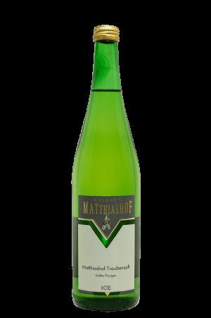 Matthiashof_Traubensaft_Mueller-Thurgau Flasche