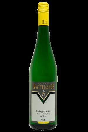 Riesling_Spaetlese_Wintricher-Ohligsberg-trocken Flasche