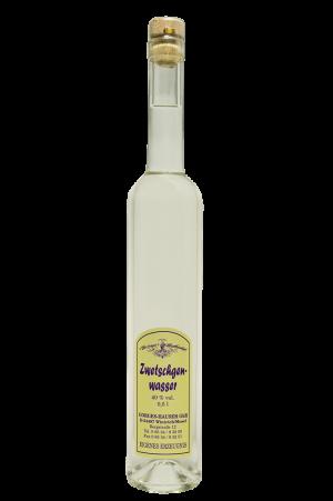 Zwetschgenwasser Flasche