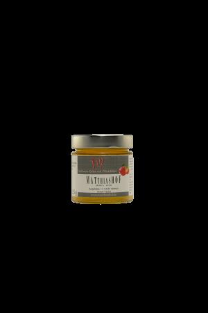 Fip_Apfelwein-Gelee-mit-Pfirsichlikoer Glas