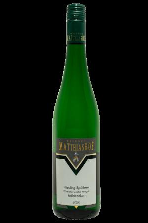 Riesling_Spaetlese_Wintricher-Grosser-Herrgott-halbtrocken Flasche