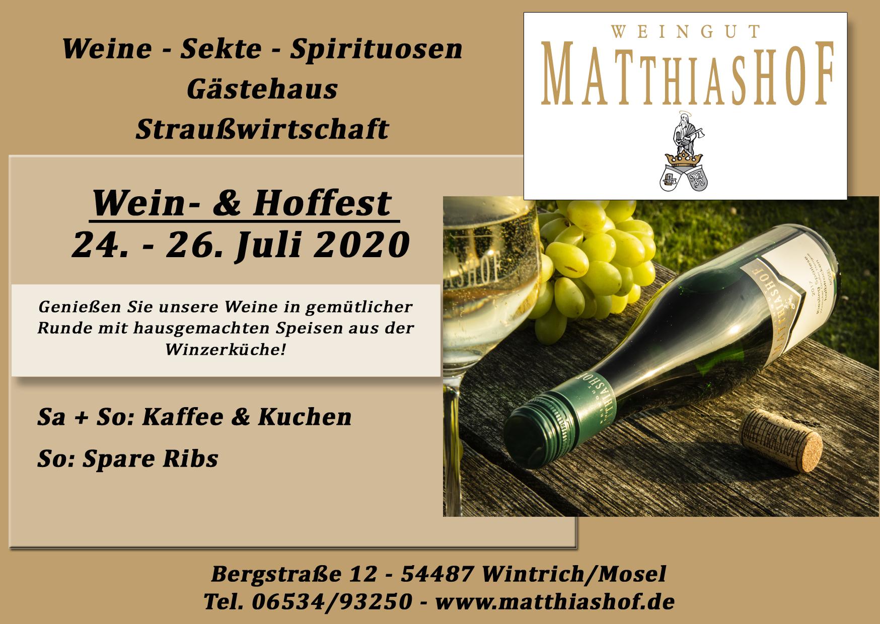 Plakat Hoffest
